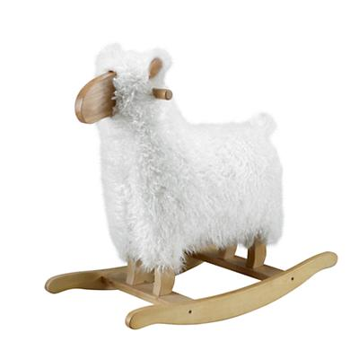 Rock With Ewe Sheep Rocker