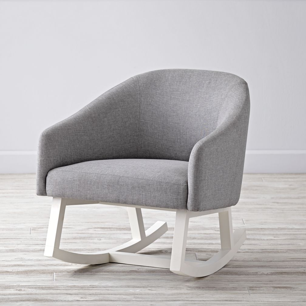 modern rocking chair  the land of nod -