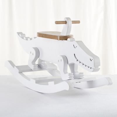 Crocodile Wooden Rocker