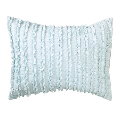 Blue Multi Ruffle Sham