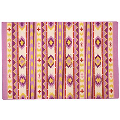 4 x 6' Aztec Support Rug (Purple)