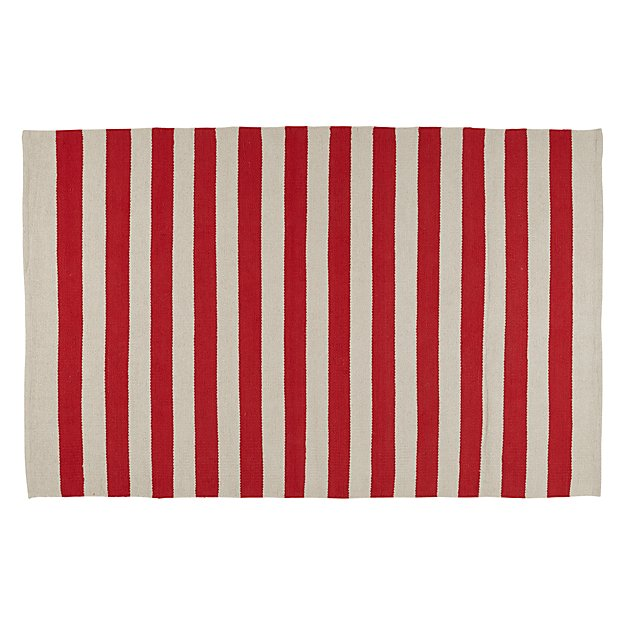 4 x 6' Big Band Rug (Red)