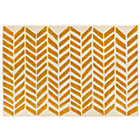 4 x 6' Yellow Gold Bars Rug