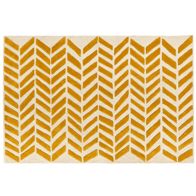 Gold Bars Rug Swatch