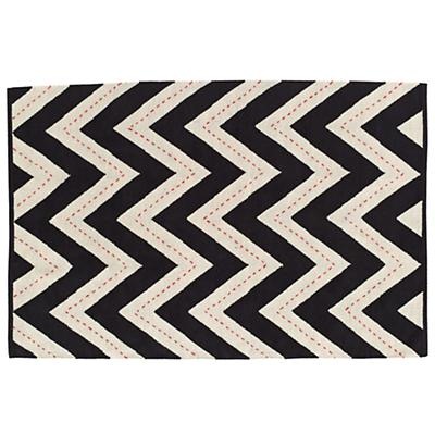 5 x 8' Two-Lane Chevron Rug