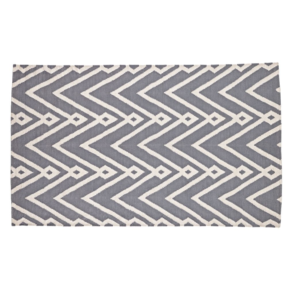 Chevron Twist Rug (Grey)