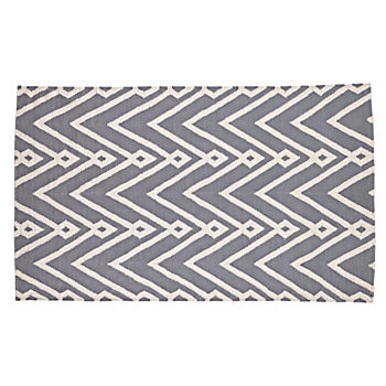 4 x 6' Chevron Twist Rug (Grey)