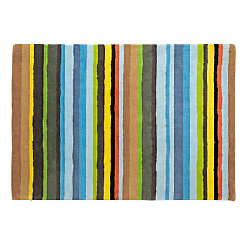 Combined Stripe 4 x 6' Rug