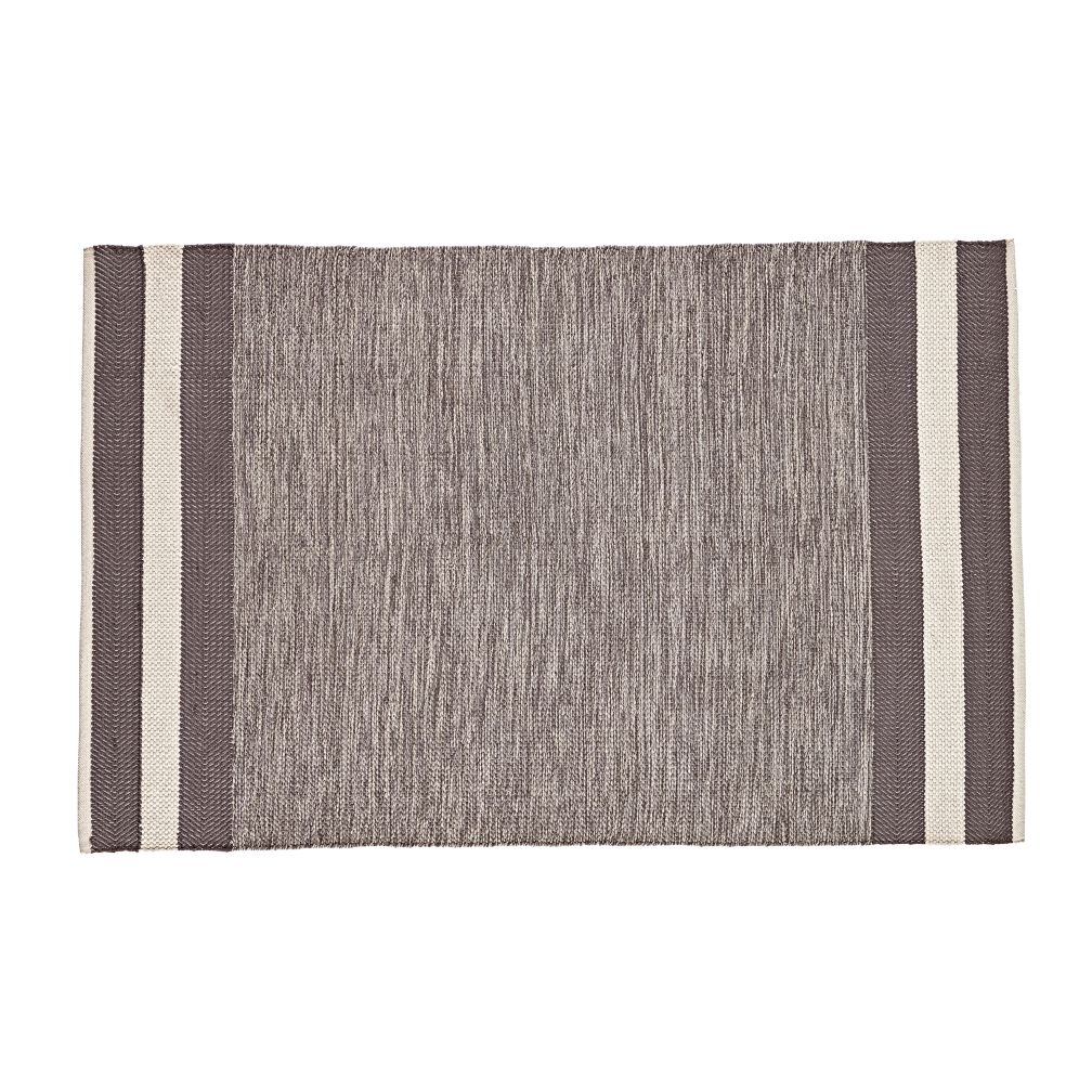 4 x 6' Defined Lines Rug (Grey)