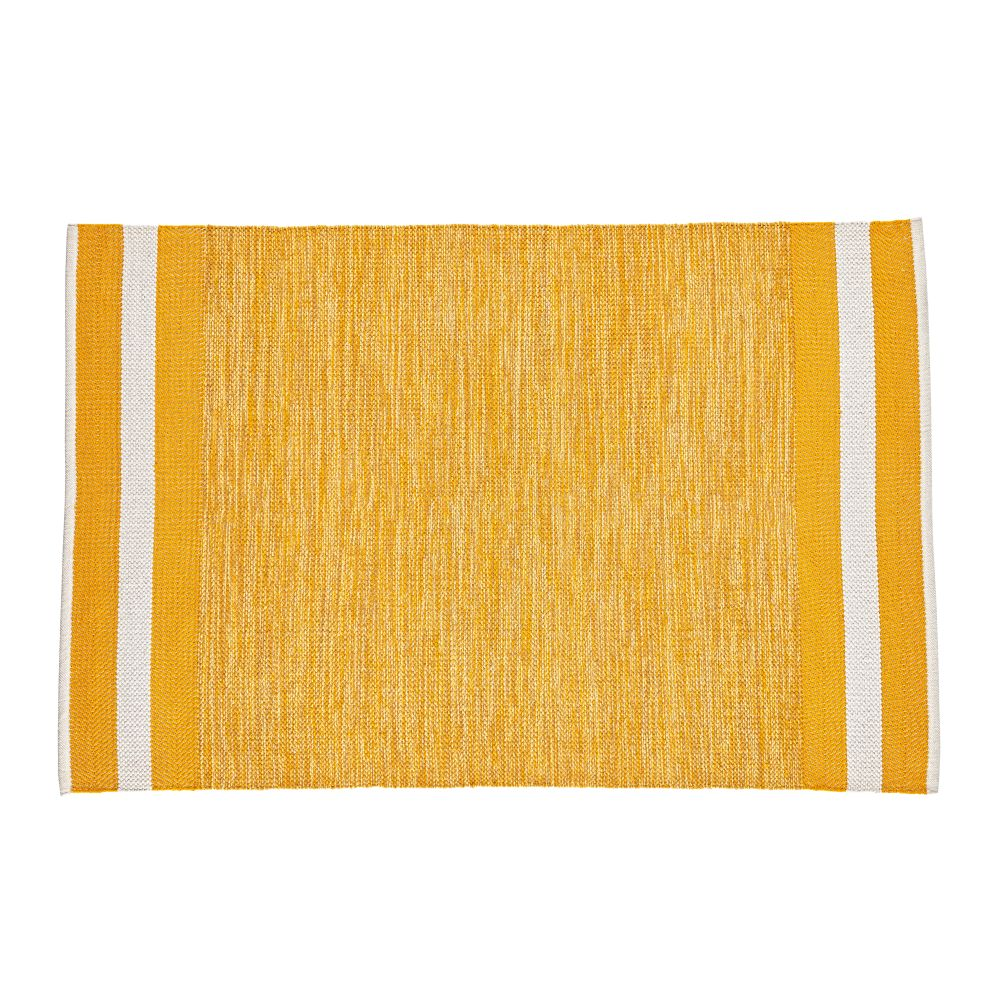 8 x 10' Defined Lines Rug (Yellow)