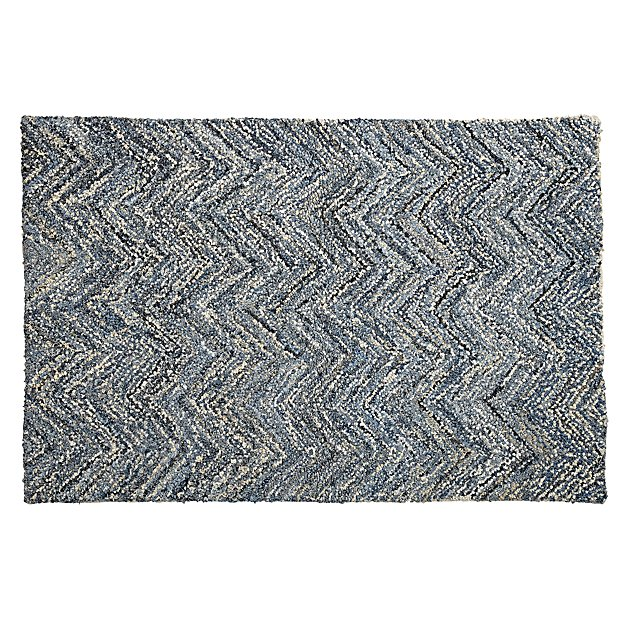 Denim Rag 8 x 10' Rug