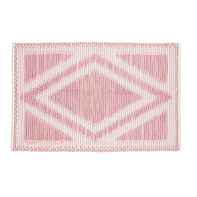 8 x 10' Diamond in the Rug (Pink)