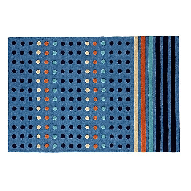 Dots and Stripes 8 x 10' Rug