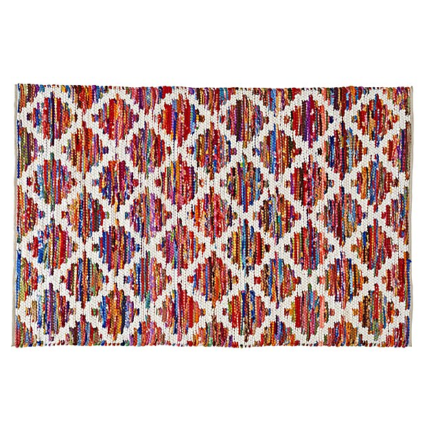 Color Grid 4 x 6' Rug