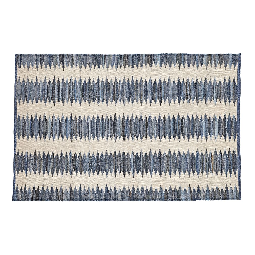 4 x 6' Folk Denim Rug
