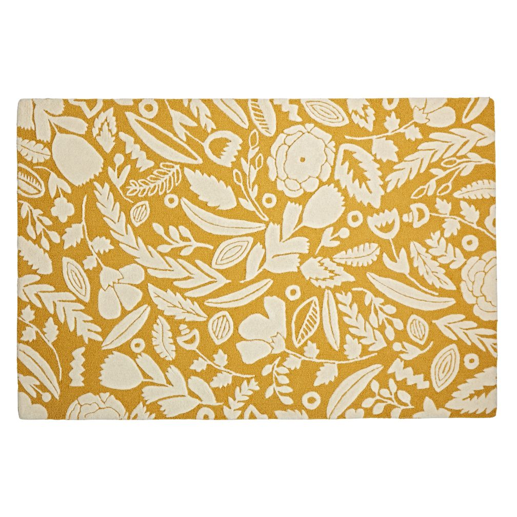 Yellow Forest Floor Kids Rug The Land Of Nod