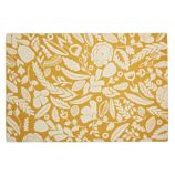 Forest Floor Yellow Rug