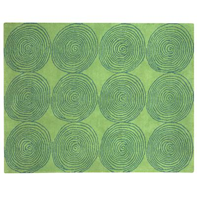 8 x 10' Honey Bun Rug (Green)