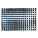 Square Navy Indoor/Outdoor Rug