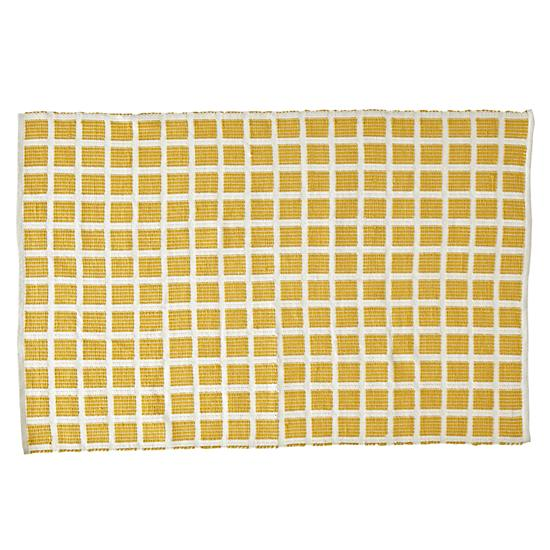 Indoor Outdoor Rugs Square: Square Yellow Indoor/Outdoor Rug