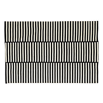 Indoor/Outdoor Striped 8 x 10' Rug