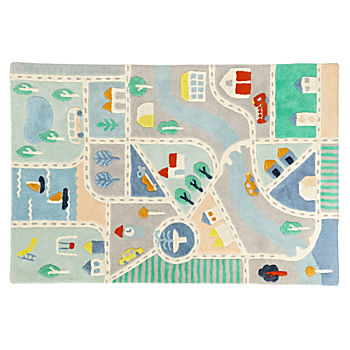 Little City Road 4 x 6' Rug