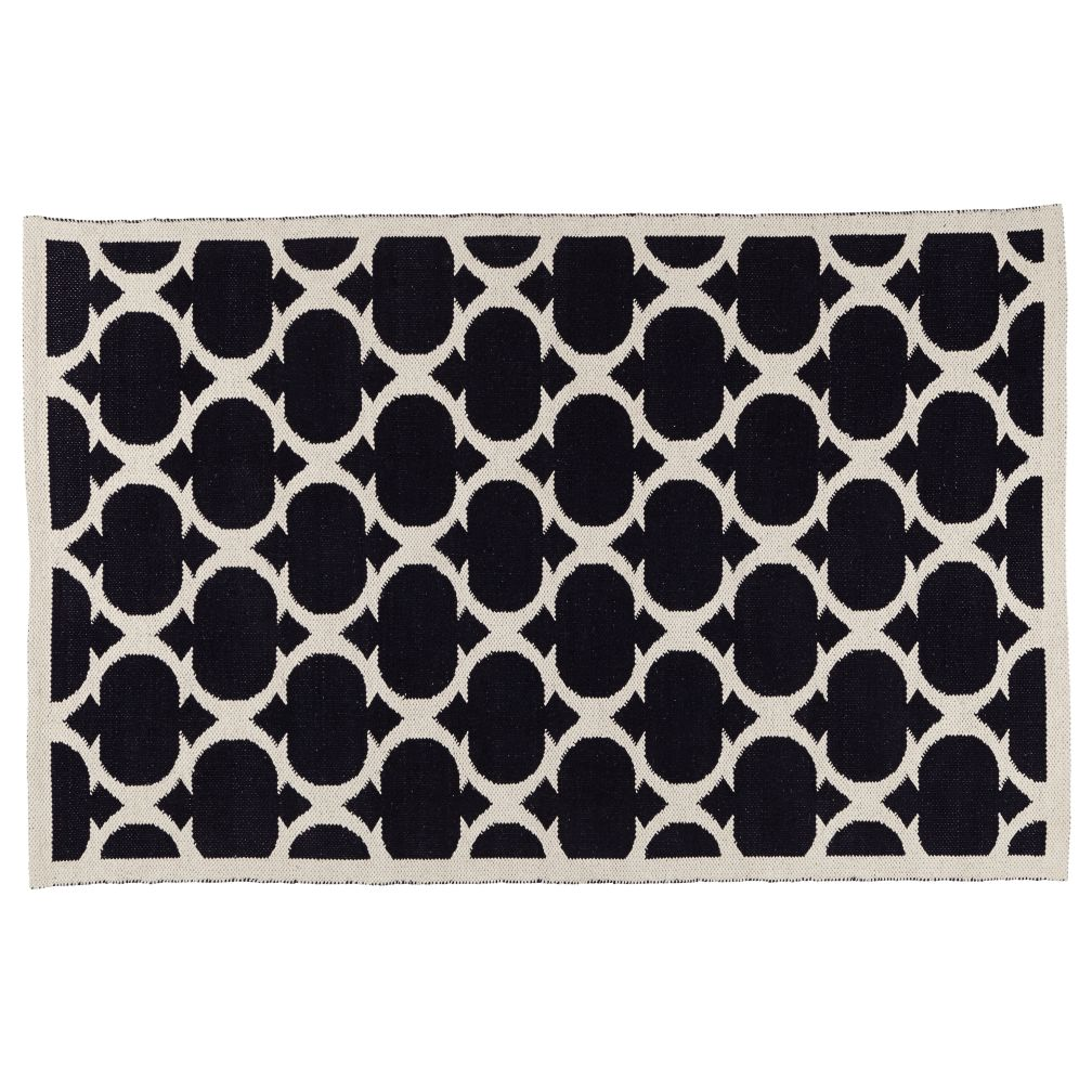 8 x 10' Magic Carpet Rug (Black)
