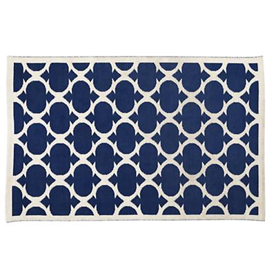 8 x 10' Magic Carpet Rug (Dk. Blue)