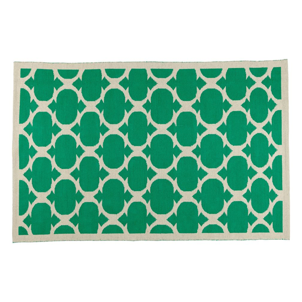 4 x 6' Magic Carpet Rug (Green)