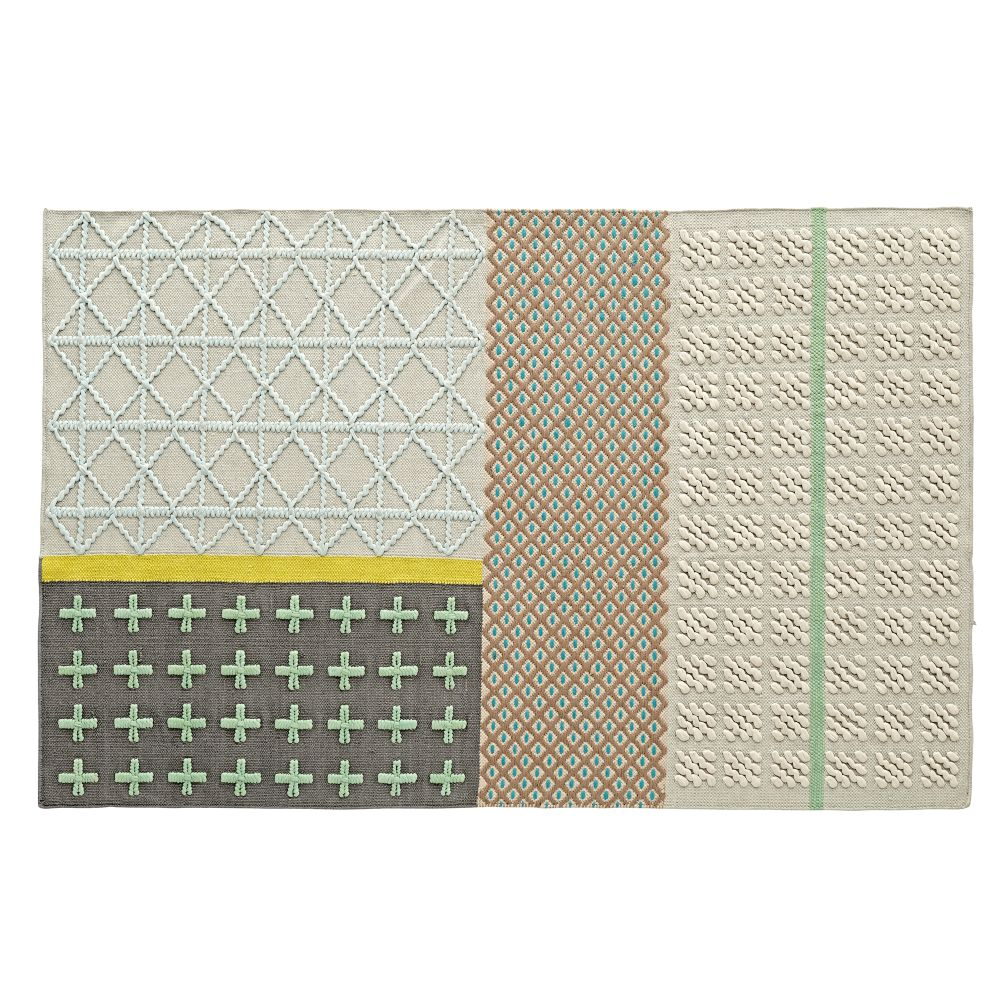 mixed weave rug | the land of nod