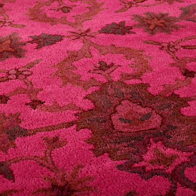 Swatch Pink Overdyed Rug