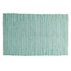 5 x 8' Mint Rags to Riches Rug