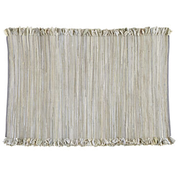 5 x 8' Ribbon Cutting Rug (Grey)