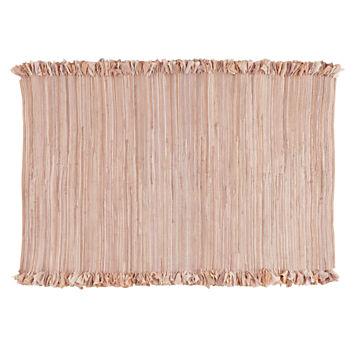 4 x 6' Ribbon Cutting Rug (Pink)