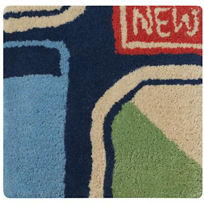 Come Fly With Me Rug Swatch
