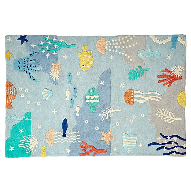 Under the Sea 5 x 8' Rug