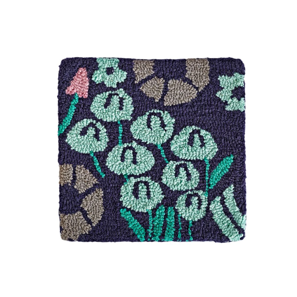 4 X 6 Local Flora Rug Blue The Land Of Nod
