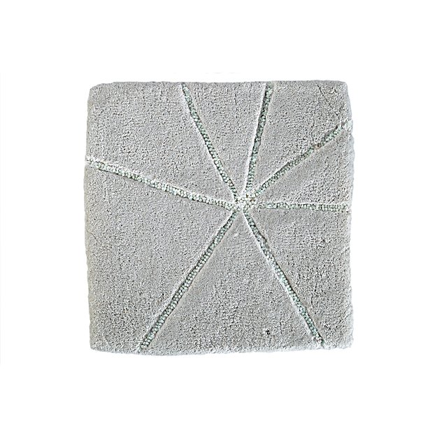 Crystal Mosaic Rug Swatch (Grey)