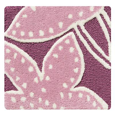 Padded Lily Lavender Rug Swatch