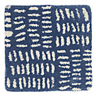 Blue Tally Rug Swatch