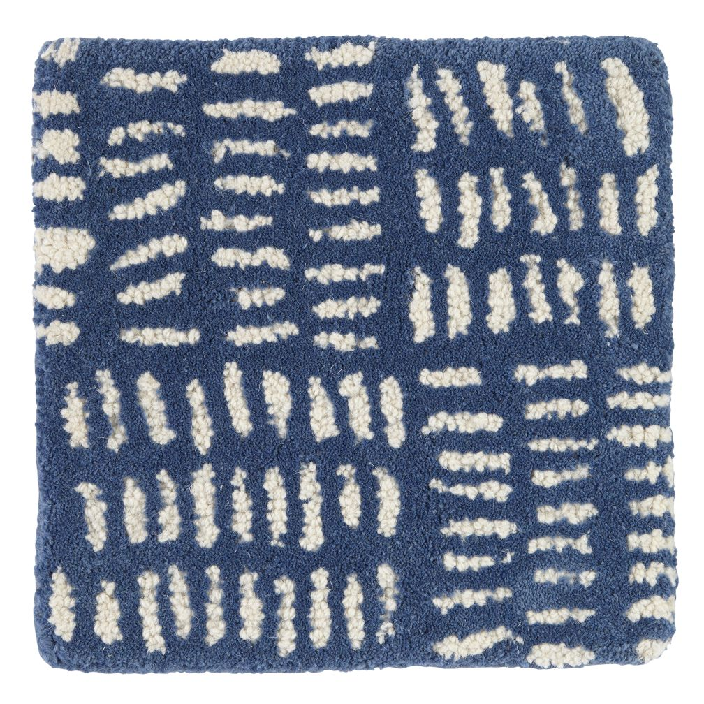 Tally Rug Swatch (Blue)