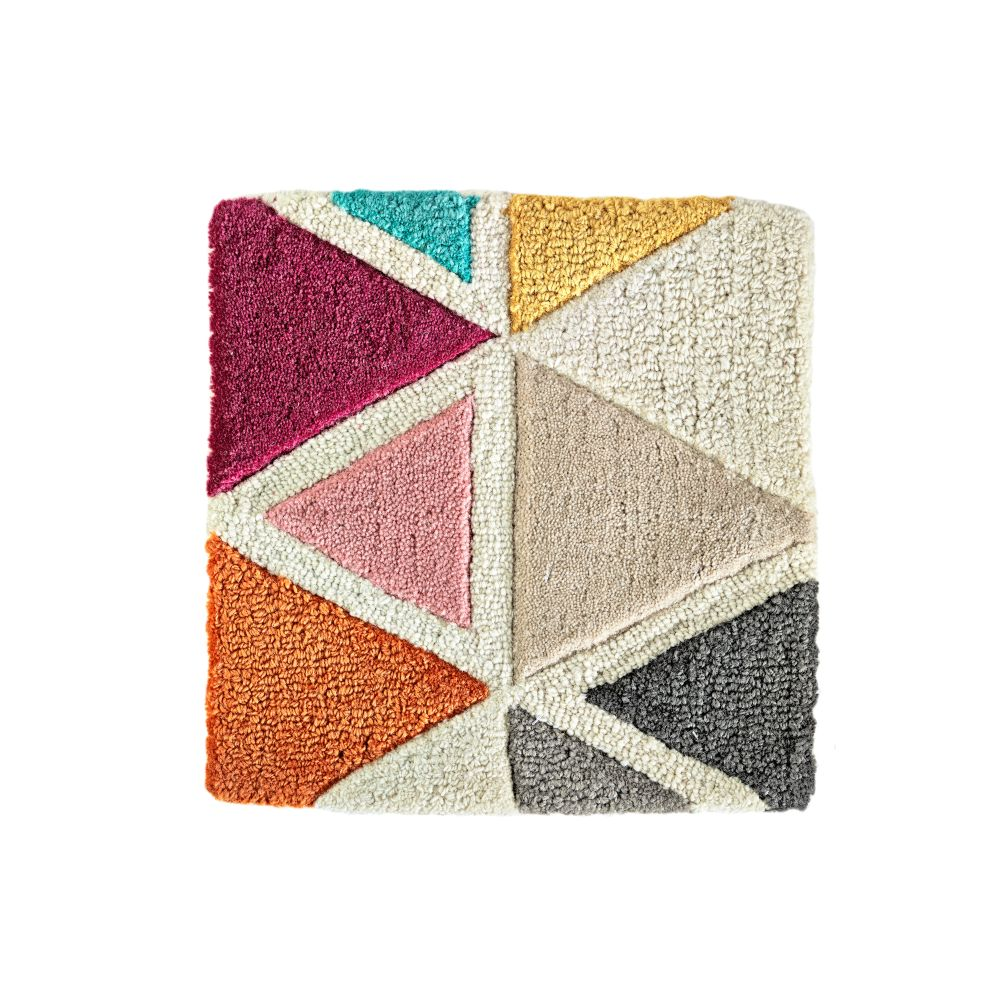 Totally Triangular Rug Swatch