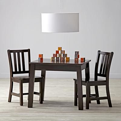 Anywhere Square Java Play Table & Chairs Set