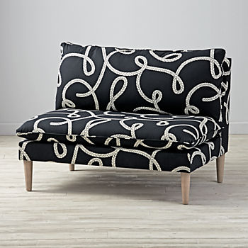 Goodwin Rope Upholstered Settee