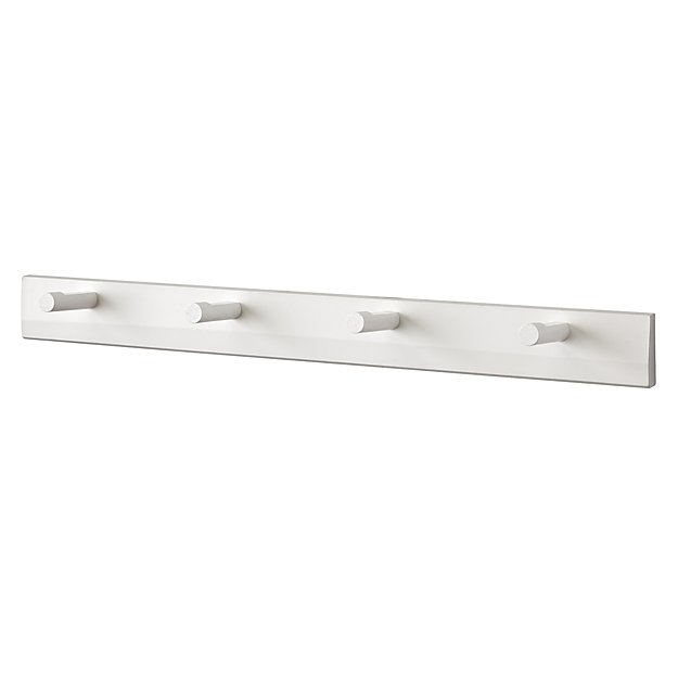 Beaumont White Peg Rail