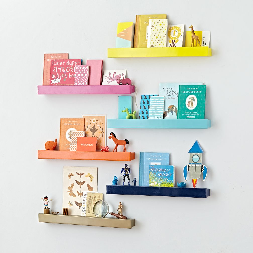 Kids shelves wall cubbies the land of nod selected color gold amipublicfo Gallery