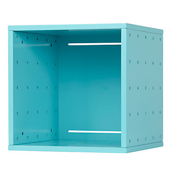 Large Cubby Cube Wall Shelf (Aqua)