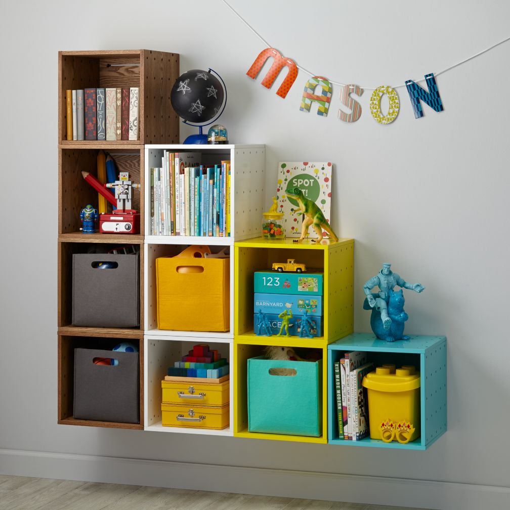Cube cubby wall shelf the land of nod amipublicfo Image collections