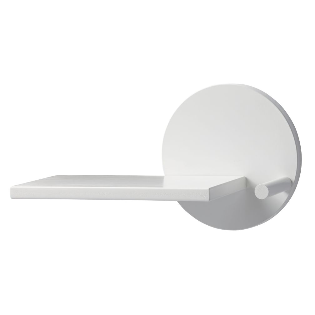 White Orbit Wall Shelf