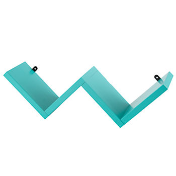 Origami Wall Shelf (Aqua)